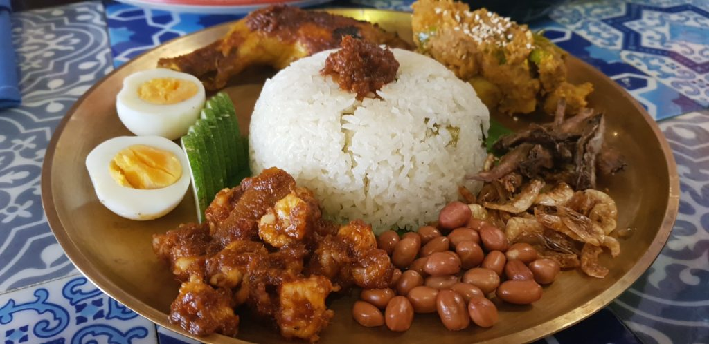 Malacca as the name Suggests serves Malaysian cuisine