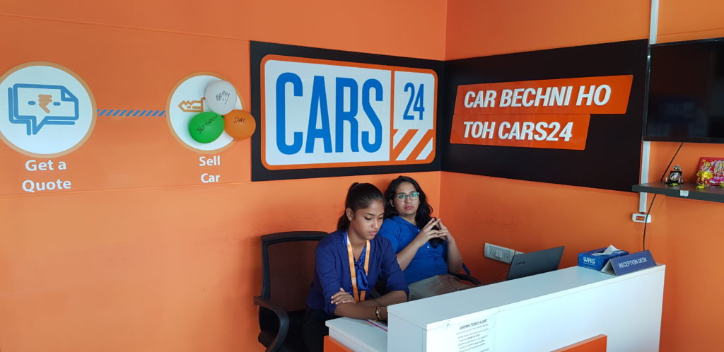 Selling your car has never been easier. Visit CARS24