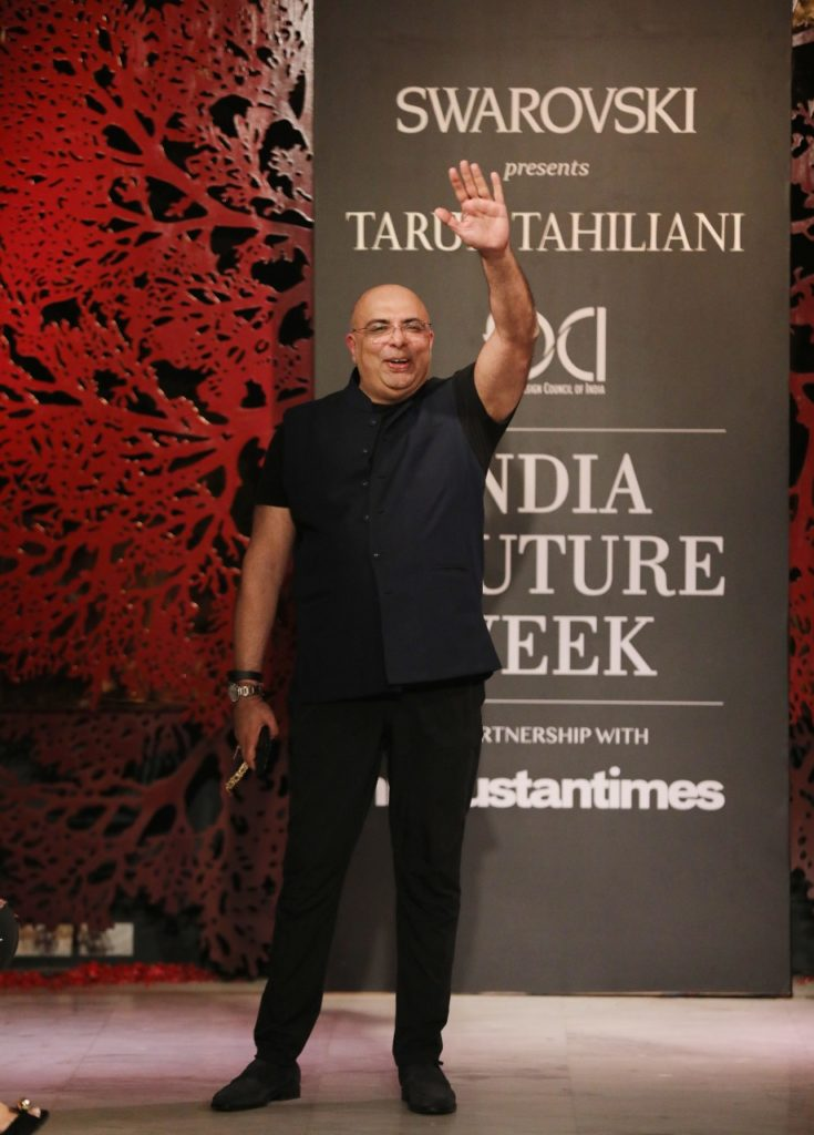 Swarovski Presents Tarun Tahiliani's 'Bloom' Collection at India Couture Week 2019