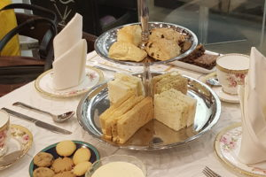 English Afternoon Tea Menu at UNWIND Café