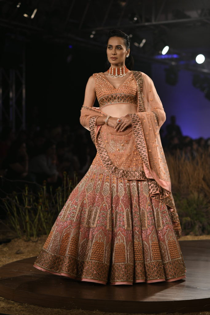 It's time to indulge in an everlasting tale of magnificent details with 'The Savannah Saga' By Designer Reynu Taandon